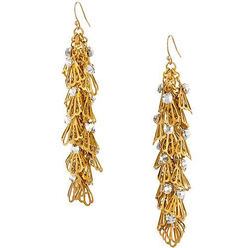 Miriam Haskell Dangle Linear Earrings