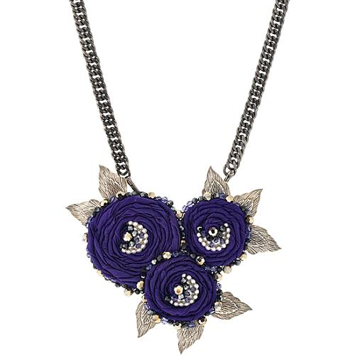 Miriam Haskell Floral Necklace