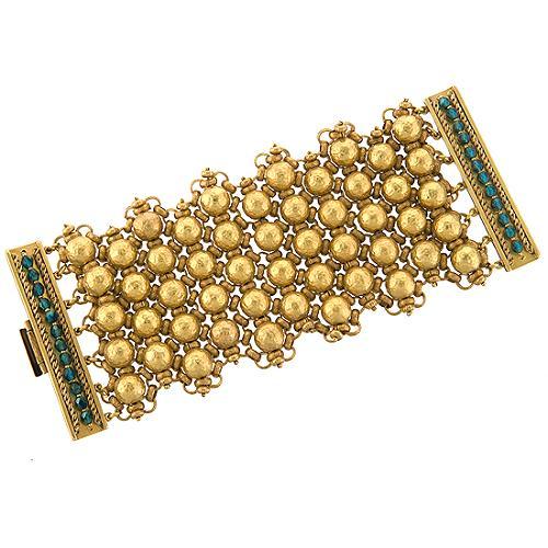 Miriam Haskell Goddess Bracelet