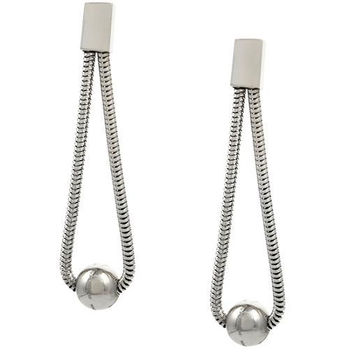 Pianegonda Liquid Emotion Silver Long Earrings