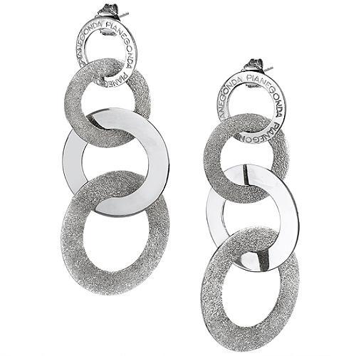 Pianegonda Love Glossy Circle Earrings
