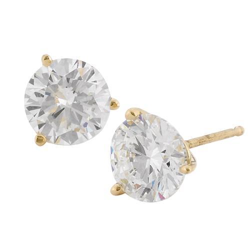 Rosiblu 2.0ct Diamond Stud Earrings