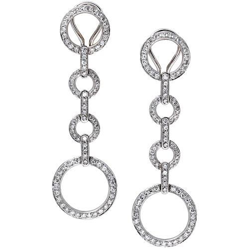 Rosiblu Circle Link Earrings