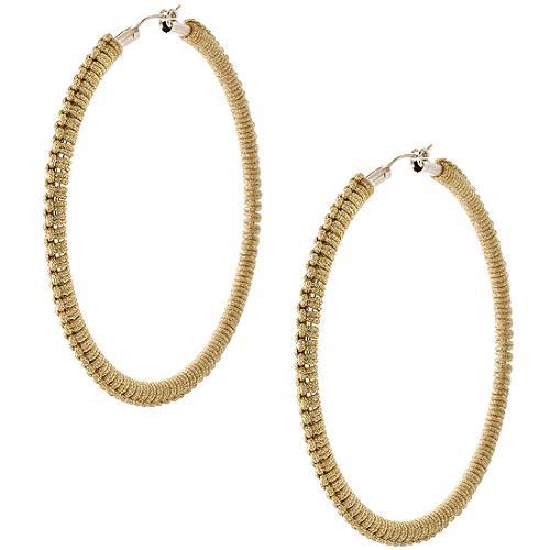 Simon Alcantara Handwoven Hoop Earrings