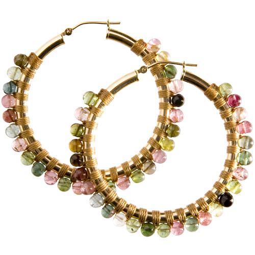 Simon Alcantara Tourmaline Earrings