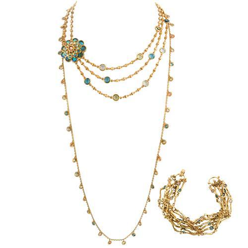 Sorrelli Bracelet & Set of Layering Necklaces