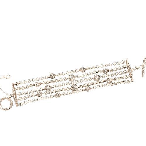 Stephen Dweck 5 Strand Chain Bracelet