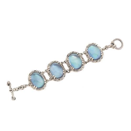 Stephen Dweck Blue Oval Bracelet