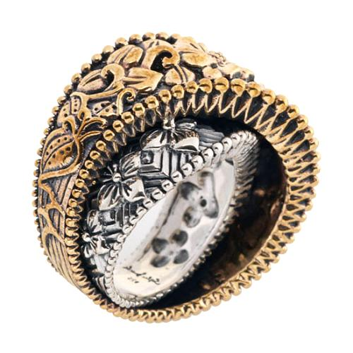 Stephen Dweck Corssover Band Ring - Size 7