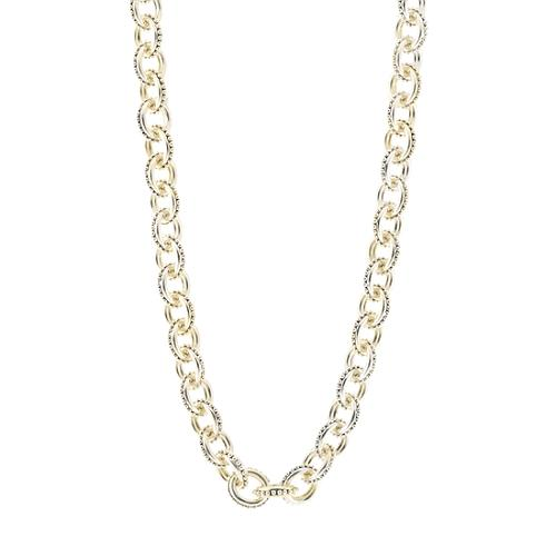 Stephen Dweck Oval Beaded Chain Necklace