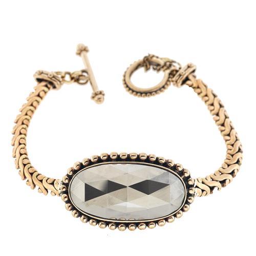 Stephen Dweck Pyrite ID Bracelet
