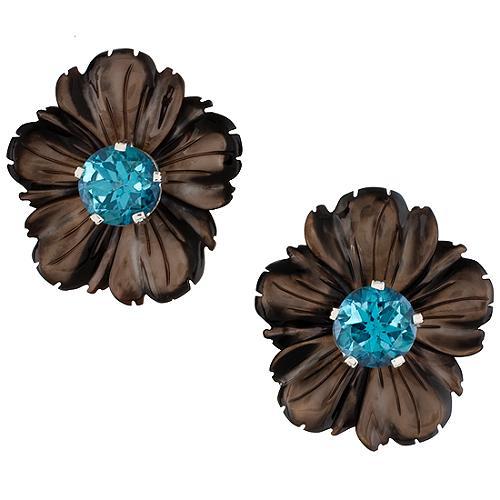 Stephen Dweck Zermatt Flower Earrings