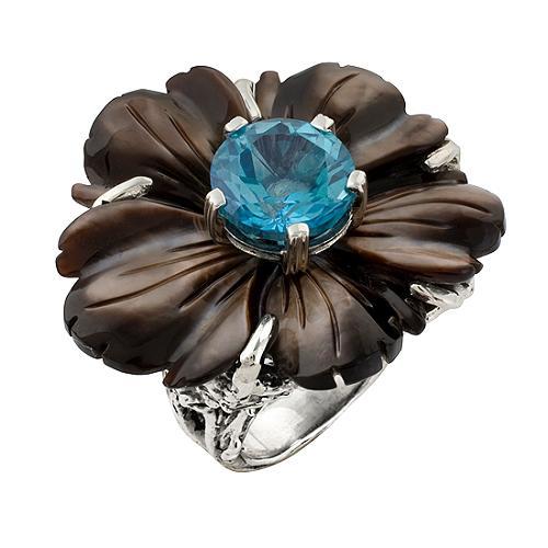 Stephen Dweck Zermatt Flower Ring