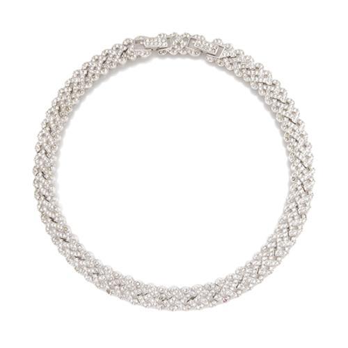 Swarovski Pave Collar Necklace