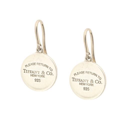 9e211b93d1e1e TIffany & Co. Return to Tiffany Round Tag Drop Earrings