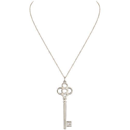 Tiffany & Co. Crown Key Pendant
