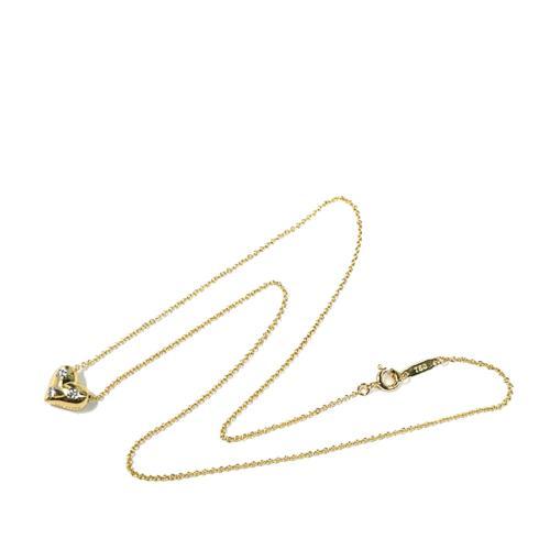 Tiffany & Co. Diamond Etoile Heart Pendant Necklace