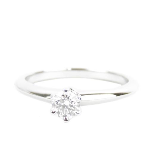 Tiffany & Co. Diamond Ring - Size 8 1/2