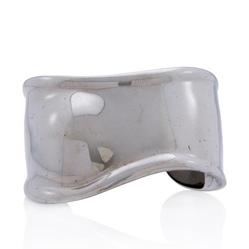 Tiffany & Co. Elsa Peretti Ruthenium Bone Cuff Small Bracelet
