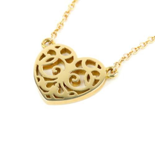 Tiffany & Co. Enchant Heart Pendant Necklace