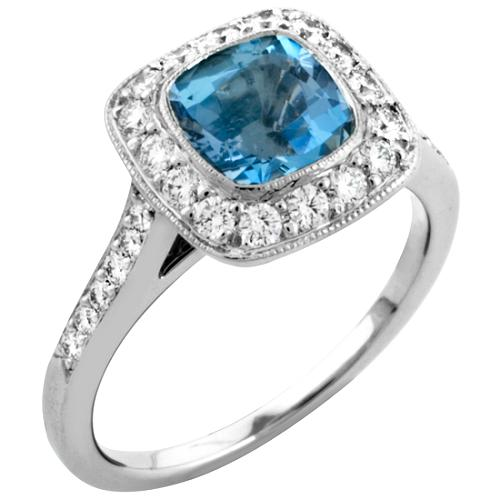 Tiffany & Co. Legacy Aquamarine Ring