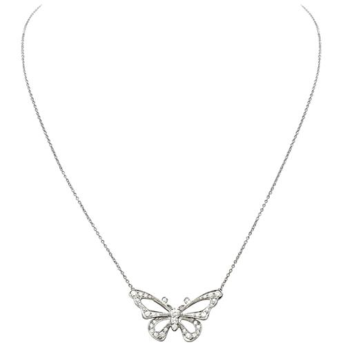 Tiffany & Co. Nature Butterfly Pendant