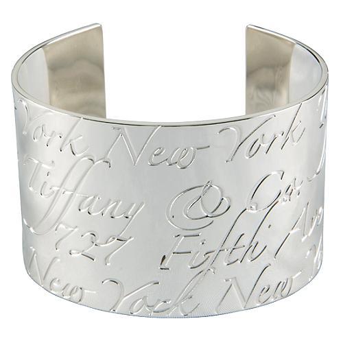 Tiffany Amp Co Notes Cuff Bracelet