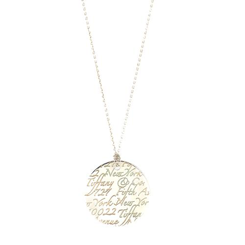 Tiffany co notes sterling silver pendant necklace tiffany co notes sterling silver pendant necklace audiocablefo