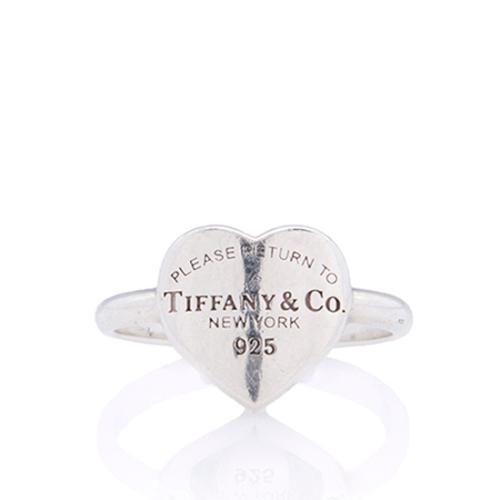 Tiffany & Co. Return to Tiffany Heart Ring - Size 6 1/2