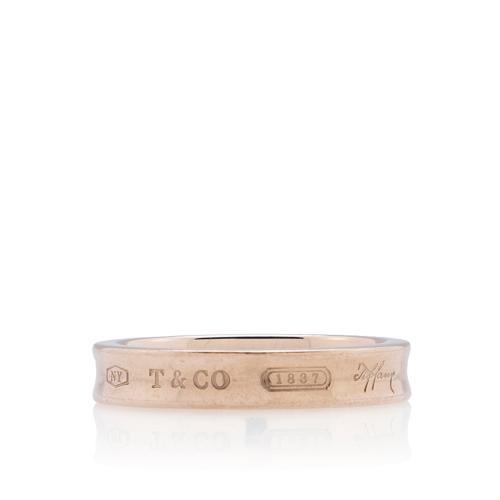 Tiffany & Co. Rubedo 1837 Ring  - Size 7
