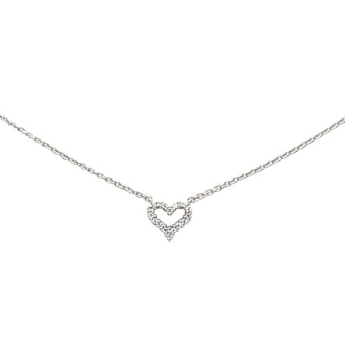 Tiffany & Co. Sentimental Heart Necklace