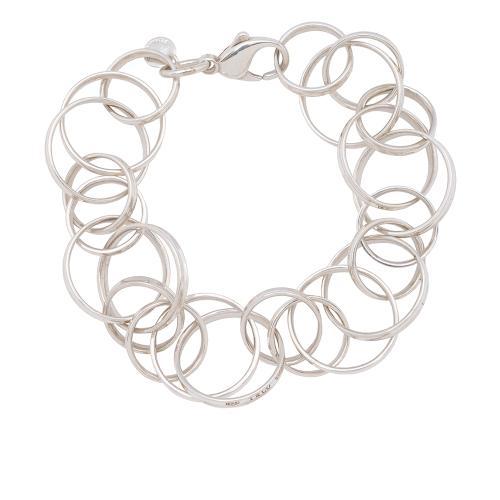Tiffany & Co. Sterling Silver 1837 Interlocking Circles Bracelet