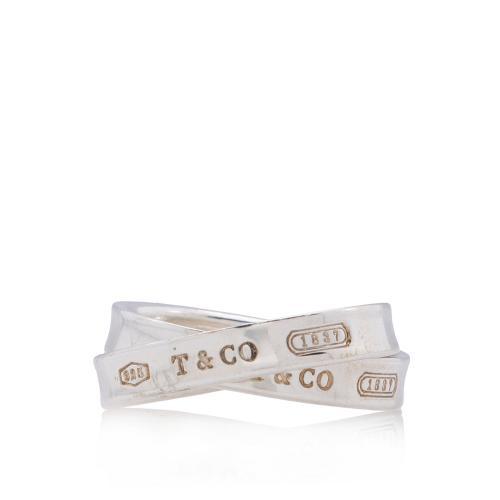 Tiffany & Co. Sterling Silver 1837 Interlocking Circles Ring - Size 6