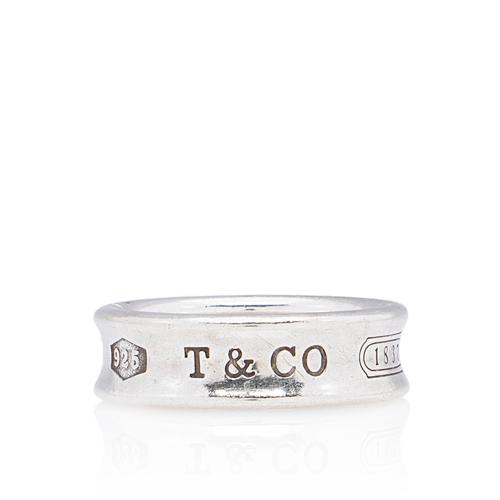 Tiffany & Co. Sterling Silver 1837 Ring - Size 9