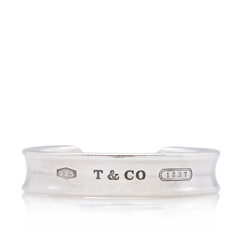 Tiffany & Co. Sterling Silver 1837 Small Bangle Bracelet