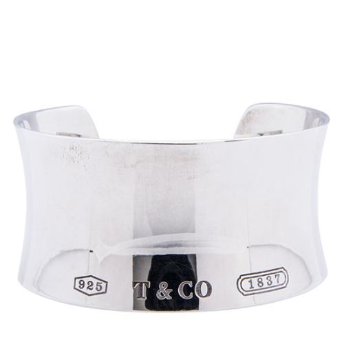Tiffany & Co. Sterling Silver 1837 Wide Cuff Bracelet - FINAL SALE