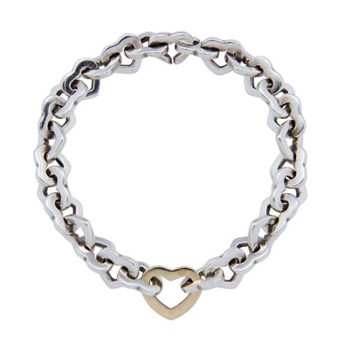 6fc34a38963 Tiffany-and-Co-Sterling-Silver-18kt-Yellow-Gold-Heart-Link-Bracelet -_98828_front_large_0.jpg