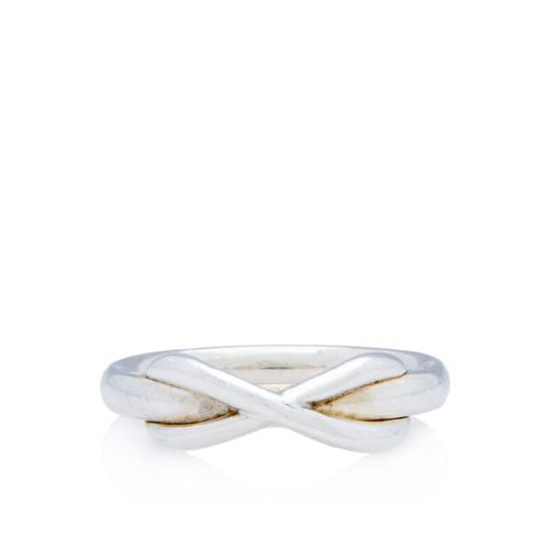 Tiffany & Co. Sterling Silver Infinity Ring - Size 7