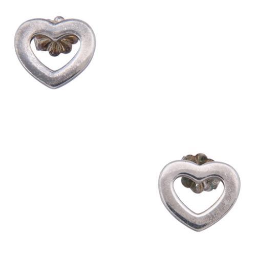 Tiffany & Co. Sterling Silver Open Your Heart Earrings