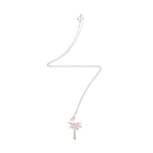 Tiffany & Co. Sterling Silver Palm Tree Charm Necklace