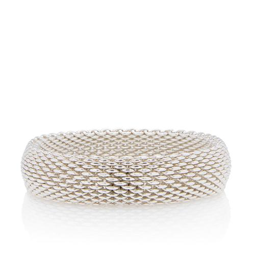 Tiffany & Co. Sterling Silver Somerset Thin Bangle