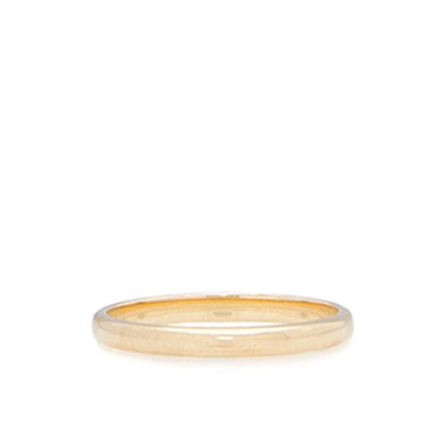 Tiffany & Co. Vintage 18k Yellow Gold Stacking Band Ring - Size 5