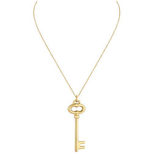 Tiffany & Co. Vintage Oval Key Pendant