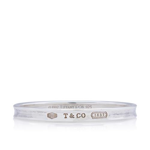 Tiffany & Co. Vintage Sterling Silver 1837 Bangle Bracelet