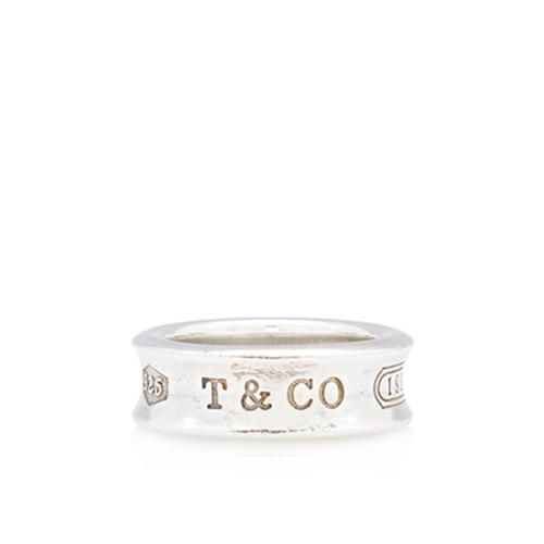 Tiffany & Co. Vintage Sterling Silver 1837 Ring - Size 5