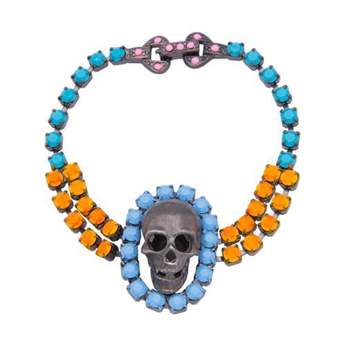 Tom Binns Skull Bracelet