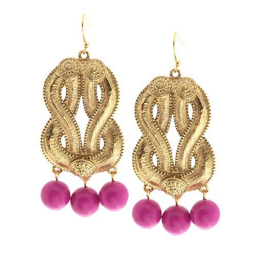Trina Turk Cleopatra Drop Earrings