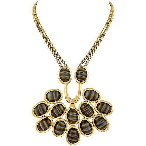 Trina Turk Snake Chain Necklace