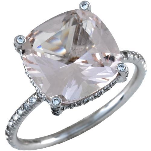 Vera Wang Morganite Ring - Size 7