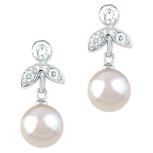 Vera Wang Victorian Diamond Earrings